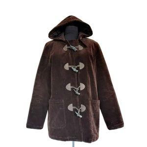 Ralph Lauren Jeans Co Corduroy Hooded Duffle Coat